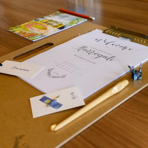 Calligraphy Course for Beginners HarrogaTE