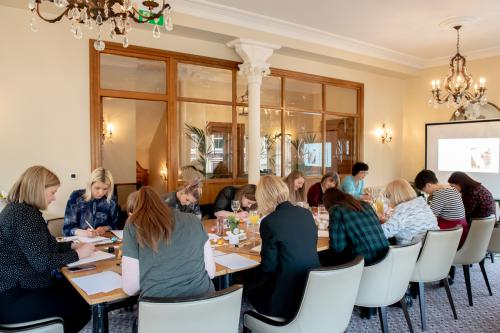 Calligraphy Workshop at Bettys Harrogate