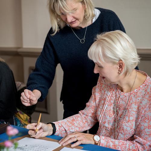 Calligraphy workshop in Harrogate LR
