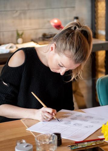 Modern Calligraphy Workshop March 19